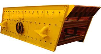 Sand Round Vibrating Screen